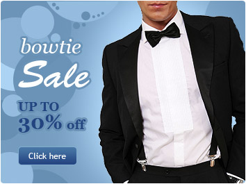 Bowtie Sale up to 30% off